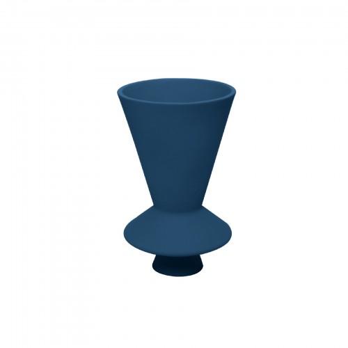 Vaso Lunático Pequeno Azul