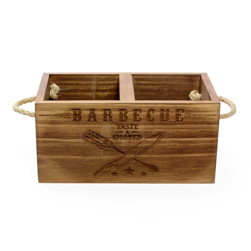 Porta talher Barbecue