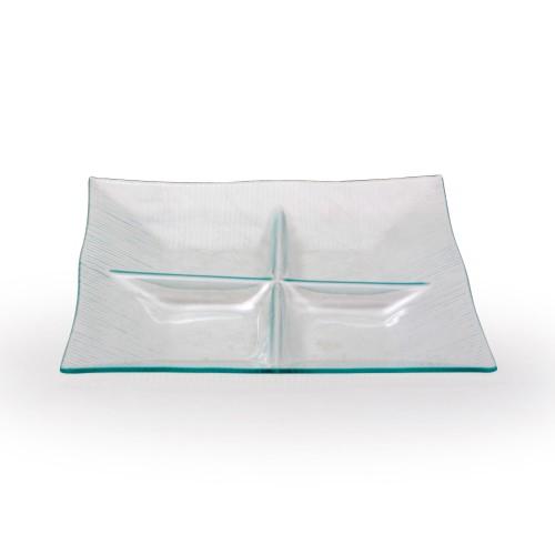 Petisqueira de vidro Estrutura