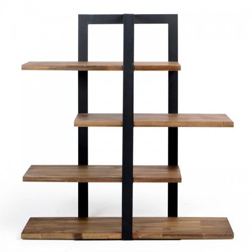Suporte 4 andares de madeira