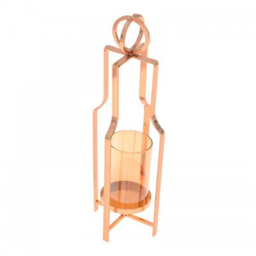 Lanterna decorativa para velas